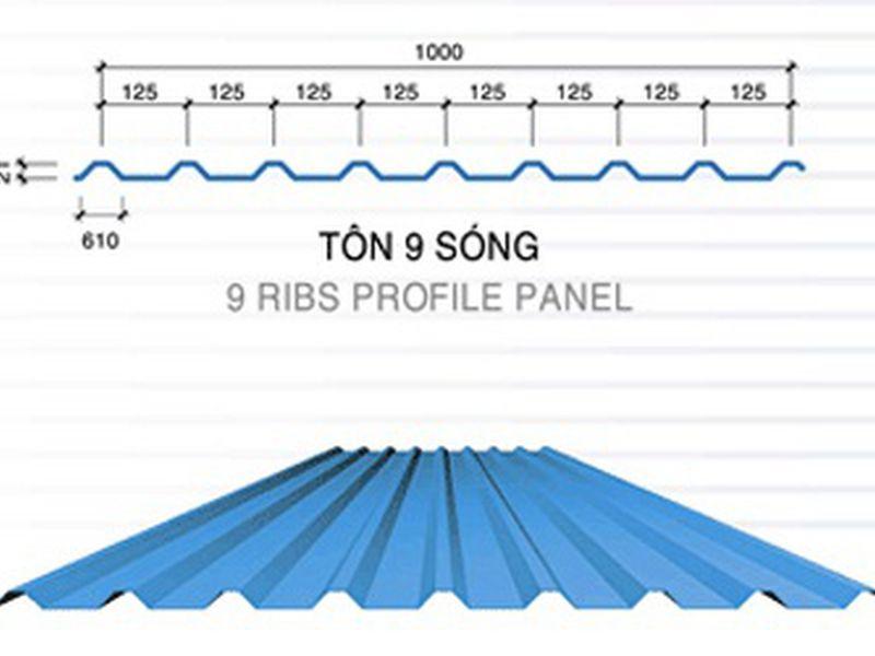 hướng dẫn thi công lợp mái tôn 9 sóng