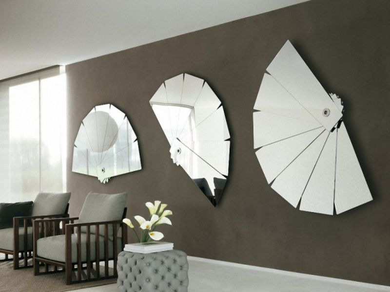 bố trí gương phòng ngủ