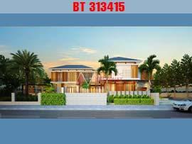 Mẫu nhà biệt thự 2 tầng 2 mặt tiền 20x30m đẳng cấp BT313415