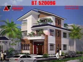 Nhà 2.5 tầng mặt tiền 8m BT520096