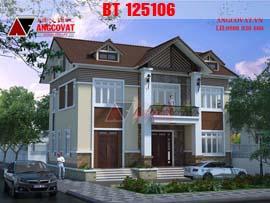Nhà 2 tầng 9x13m hiện đại mang phong cách nông thôn đơn giản nhẹ nhàng BT125106