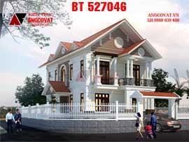 Biệt thự 2 tầng phong cách tân cổ điển 100m2 BT527046