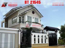 Mẫu biệt thự mini 2 tầng 7x13m diện tích 90m2 5 phòng ngủ BT21545