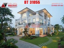 Biệt thự vườn 300m2 đẹp 3 tầng 4 phòng ngủ kinh phí 5,5 tỷ BT31855