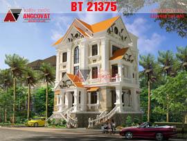 Biệt thự tân cổ điển pháp 3 tầng 170m2 ở Hải Phòng BT21375
