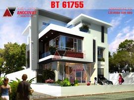 Nhà đẹp 3 tầng 2 mặt tiền 10x15m phong cách hiện đại mặt tiền 10m diện tích 150m2 BT61755