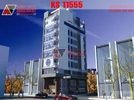 Thiết kế khách sạn mini KS11555