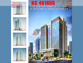 Thiết kế trung tâm thương mại 7 tầng KS461655