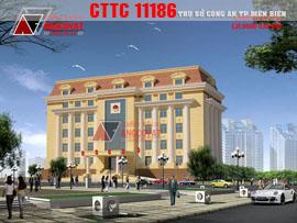 Thiết kế trụ sở CA TP Điện Biên