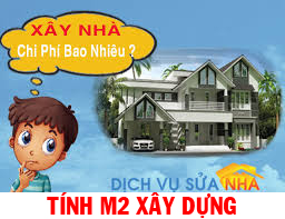Cách tính m2 xây dựng nhà ở cấp 4 nhà 1,2,3 tầng