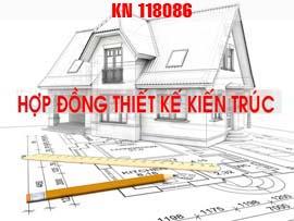 Hợp đồng tư vấn thiết kế kiến trúc nhà ở dân dụng KN118086