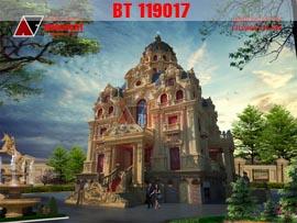 Thiết kế lâu đài kiểu pháp đẹp nhất Việt Nam BT119017