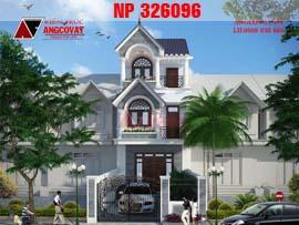 Nhà phố tân cổ điển 3 tầng mặt tiền 5.5m NP326096