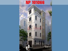 Mẫu thiết kế nhà phố 5 tầng 2 mặt tiền 30m2 nhỏ xinh trên phố KHƯƠNG TRUNG NP101066