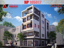 Thiết kế nhà ở kết hợp cho thuê hợp khối hiện đại 7.5x15m NP105017
