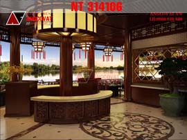 Thiết kế nội thất nhà hàng lẩu không khói đẹp NT314106