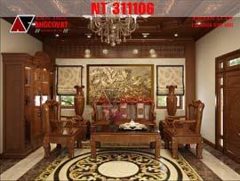 Nội thất phòng khách, phòng bếp, phòng ngủ bằng gỗ tự nhiên NT311106