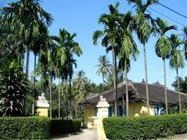 phong thủy trồng cây trước cổng nhà