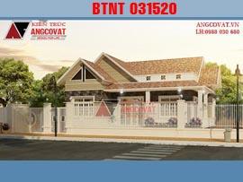 Nhà vườn1 tầng 4 phòng ngủ mặt tiền 12m kinh phí 800 triệu  BTNT031520