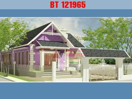 Thiết kế nhà mặt tiền 7m diện tích 120m2 3 phòng ngủ kinh phí 750 triệu BT121965