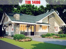 4 mẫu biệt thự mái thái đẹp TIN1486