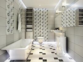 chọn gạch lát nền nhà vệ sinh đẹp