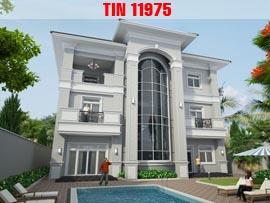 Những mẫu biệt thự 3 tầng hiện đại